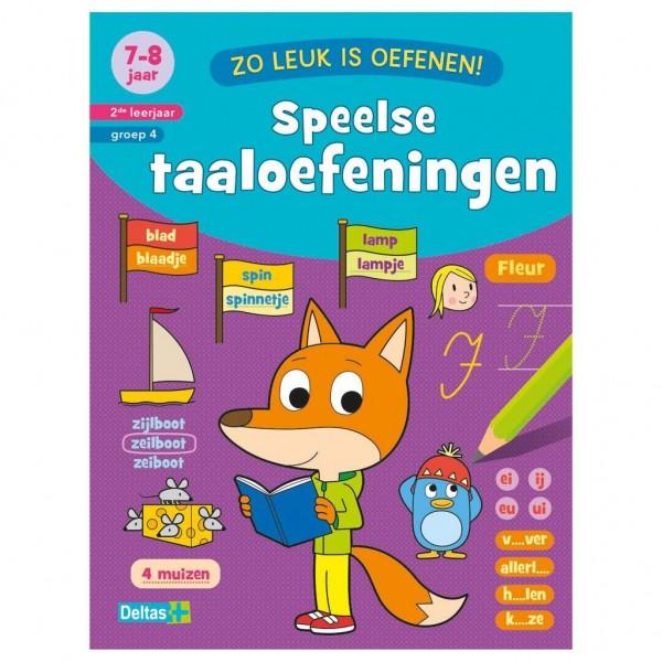 Boek Zo Leuk Is Oefenen Taaloefeningen (7-8 Jaar)