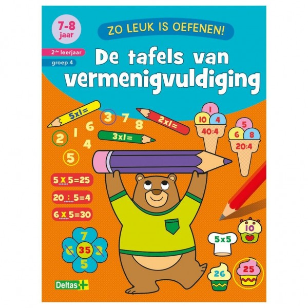 Boek Zo Leuk Is Oefenen Tafels (7-8 Jaar)