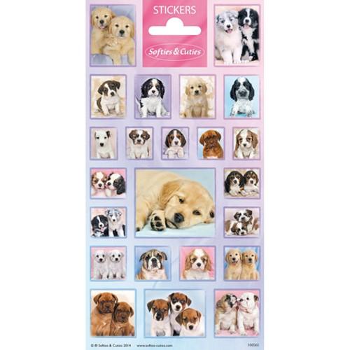 Stickers schattige hondje