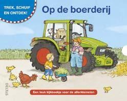 Boek Op de boerderij Trek, Schuif en Ontdek