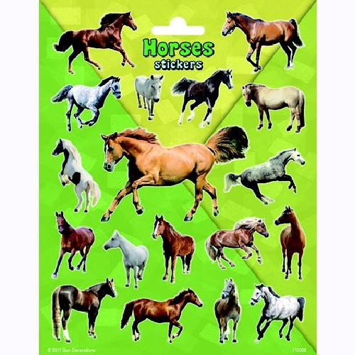 Stickers paarden groot