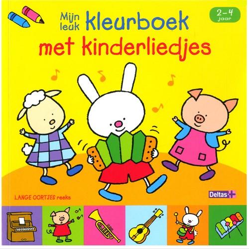 Boek Lange Oortjes Kinderliedjes (2-4 JAAR)