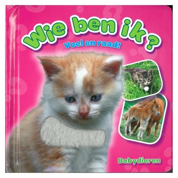 Boek Wie Ben Ik Babydieren