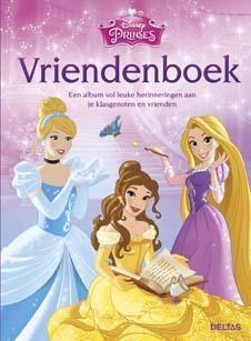 Disney prinsessen vriendenboek