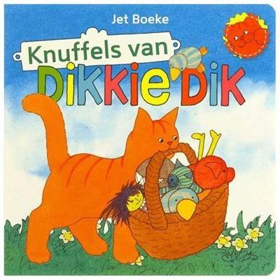 Kartonboek Knuffels Van Dikkie Dik
