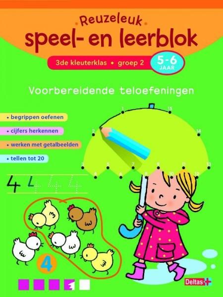 Reuzeleuk speel- en leerblok Voorbereidende teloefeningen 5-6 jaar