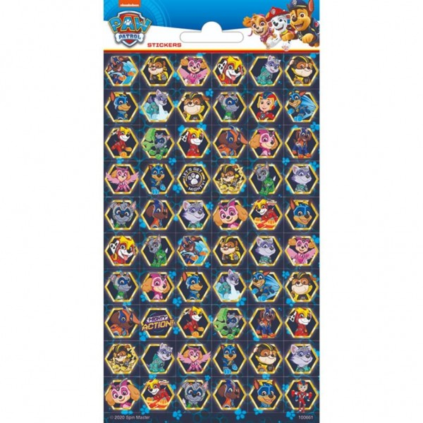 Stickers Paw Patrol Mighty Pups