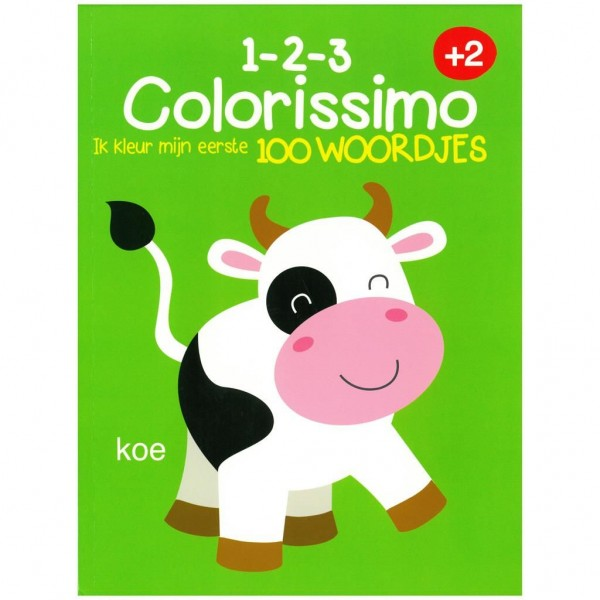 Kleurboek Colorissimo 2+