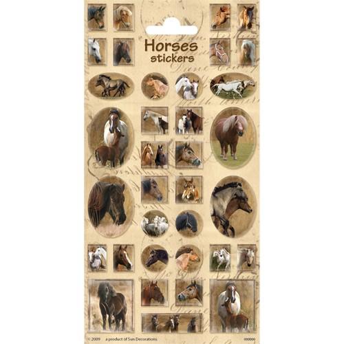 Stickers Paarden 3