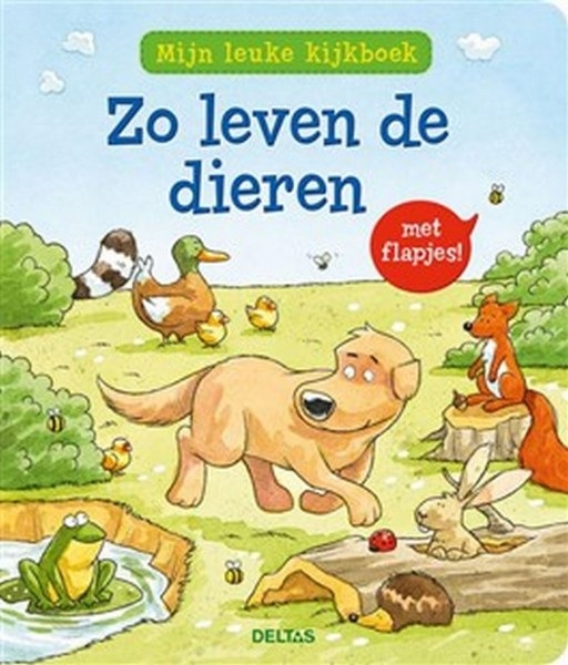 Boek Mijn Leuke Kijkboek Zo Leven De Dieren
