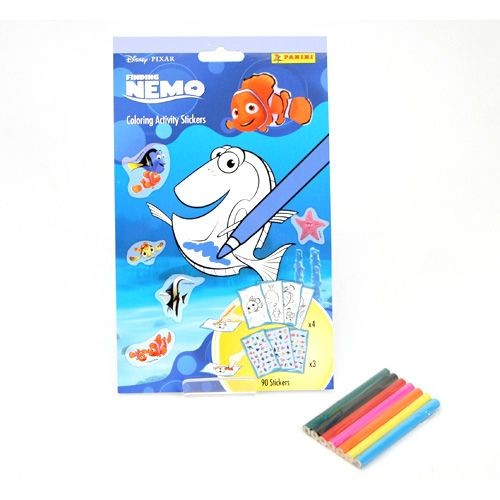 Stickers Nemo Coloring Activity