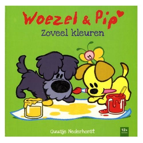 Boek Woezel en Pip Zoveel Kleuren