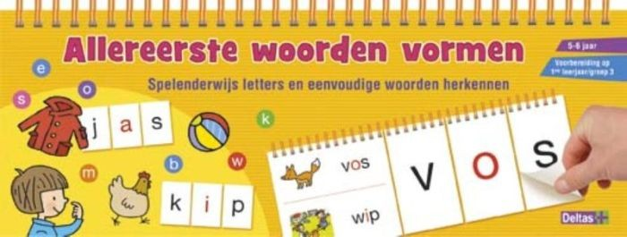 Allereerste woorden vormen (5-6 jaar)