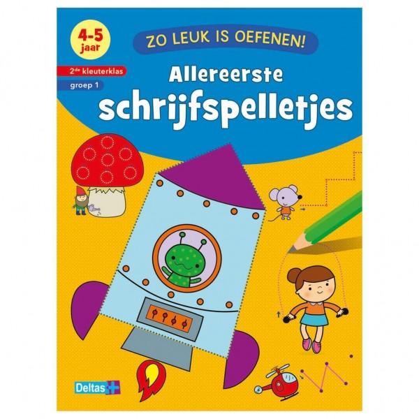 Boek Zo Leuk Is Oefenen Schrijfspelletjes (4-5 Jaar)