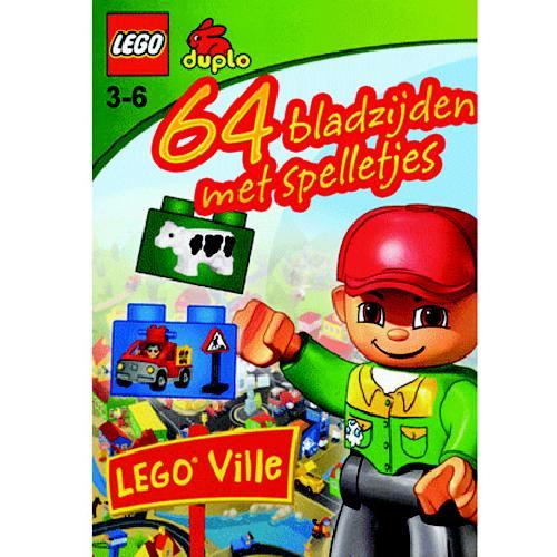 Spelletjesboek lego 64pag