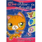 Kleur- en spelletjesblok littlest pet shop