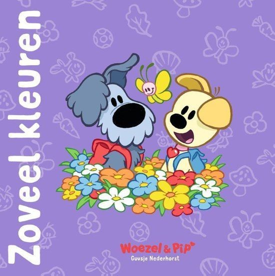 Boek Woezel & Pip Zoveel Kleuren