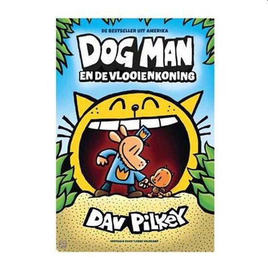 Boek Dog Man en de Vlooienkoning