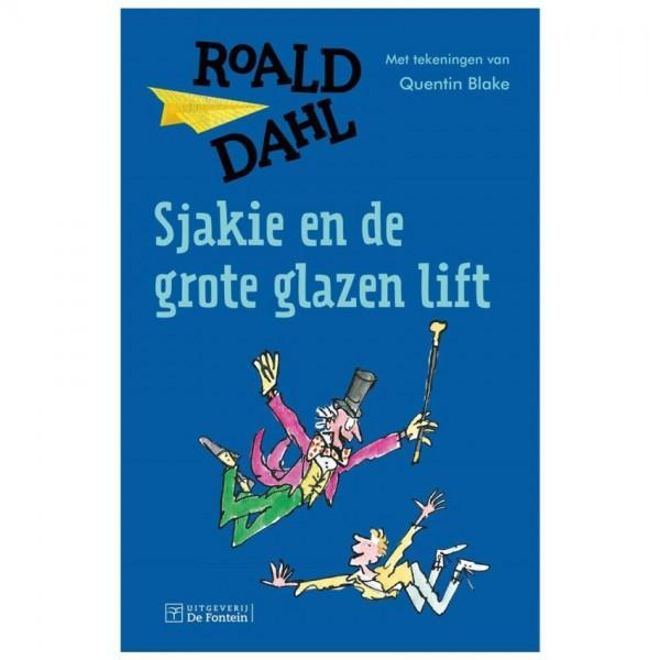 Boek Sjakie en de Grote Glazen Lift - Roald Dahl
