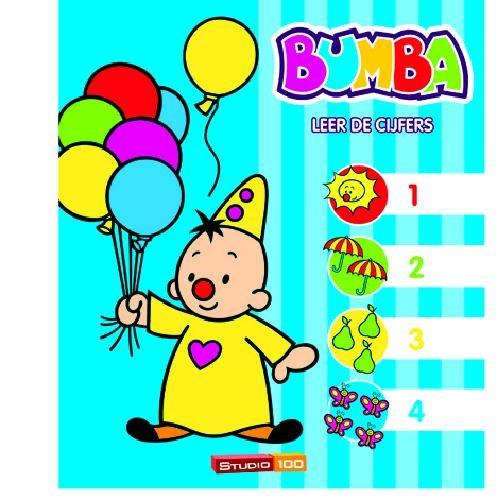Bumba Boek Leer de cijfers Bumba