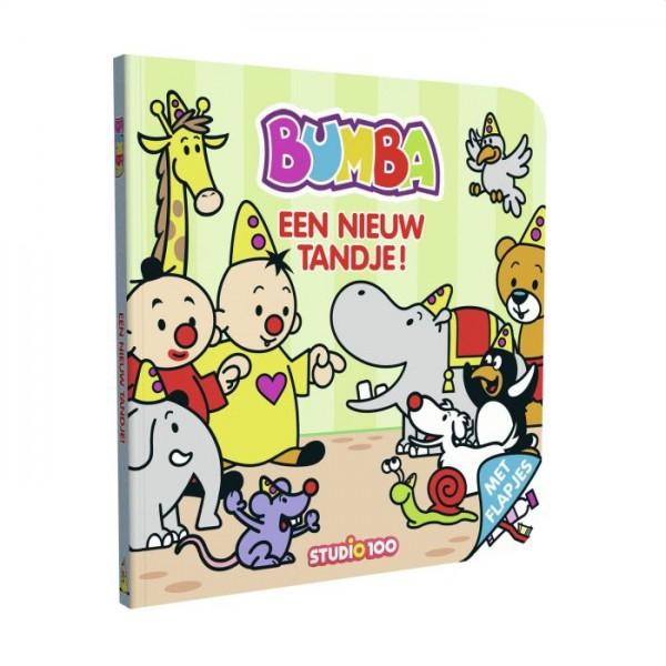 Bumba Kartonboekje Met Flapjes - Een Nieuw Tandje
