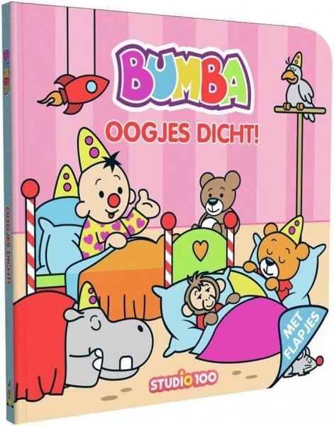 Bumba Kartonboekje Met Flapjes - Oogjes Dicht