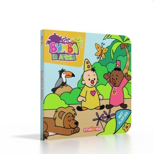 Bumba Kartonboek - Bumba In Afrika