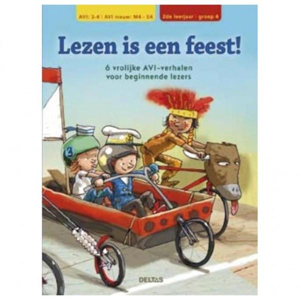 Boek Lezen Is Een Feest! AVI M4-E4 6 Verhalen