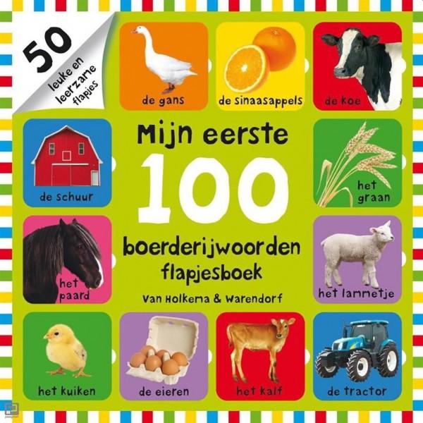 Boek Mijn Eerste100 Boerderijwoorden Flapjesboek