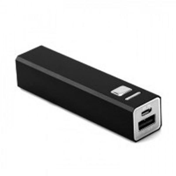 Ergenic Powerbank Black 2600 MAH-Zwart