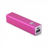 Ergenic Powerbank 2600 MAH Roze