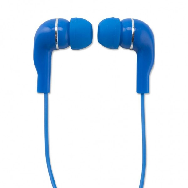 Wonky Monkey Earphone Blauw