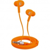 Wonky Monkey Earphone Rumble Oranje
