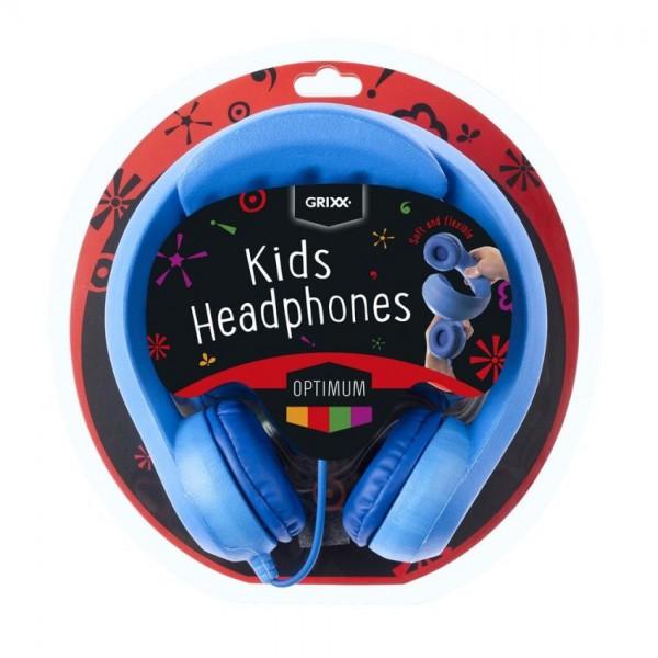 Grixx Kinderkoptelefoon Blauw 85DB