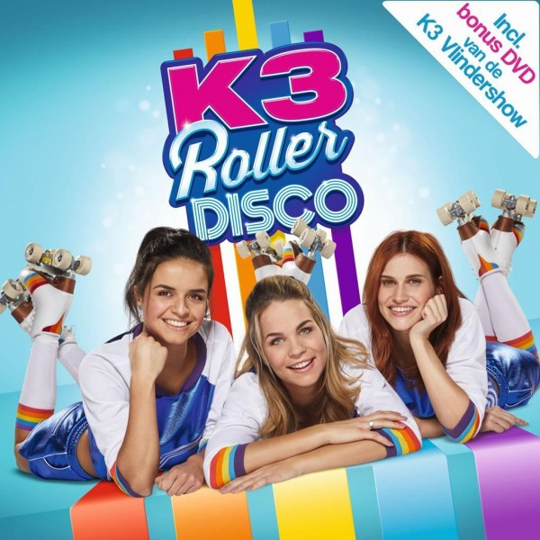 K3 CD - DVD Roller Disco