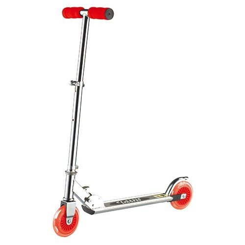Scooter Aluminium Red