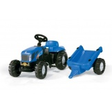 Rolly Toys Tractor met aanhanger New Holland