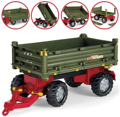 Rolly Toys aanhanger multi trailer Rolly Toys