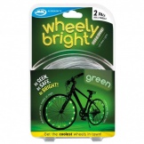Wheely Bright Green 2 Stuks