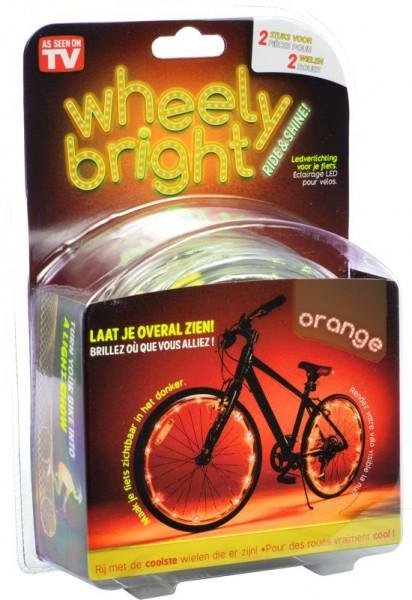 Wheely Bright Oranje 2 Stuks