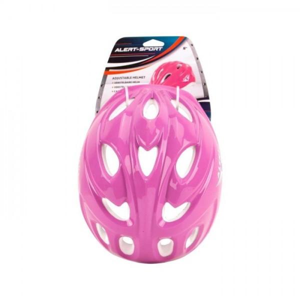 Alert Helm Verstelbaar Roze