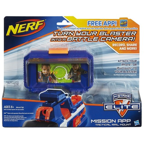 Nerf N-Strike Elite Mission App