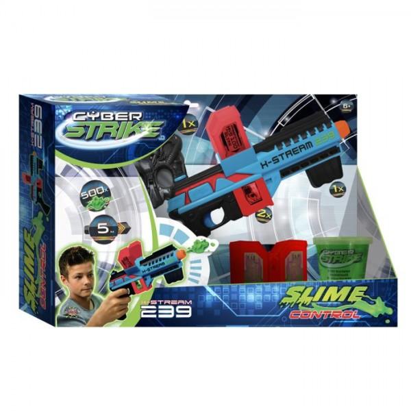 Geweer Slime Blaster X Stream 239 Met Masker En Schietschijf