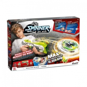 Spinner MAD Single Shot Blaster Groen
