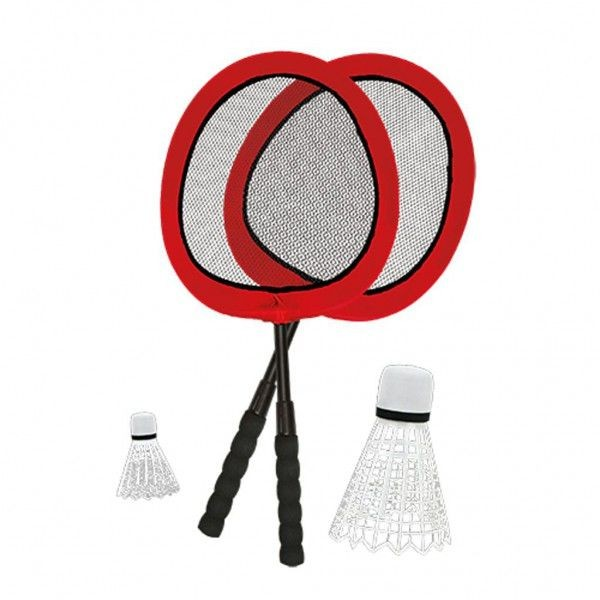 Badmintonset Groot met 2 shuttles