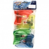 Waterpistool 10cm 4-pack