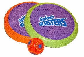 Splash Blasters set Fling n Spring Rings