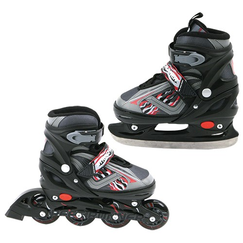 Inline Skate en Schaats zwart maat 31-34