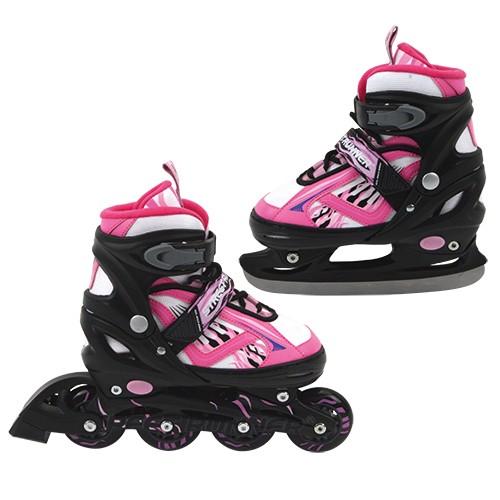 Inline Skate/Schaats Roze maat 31-34