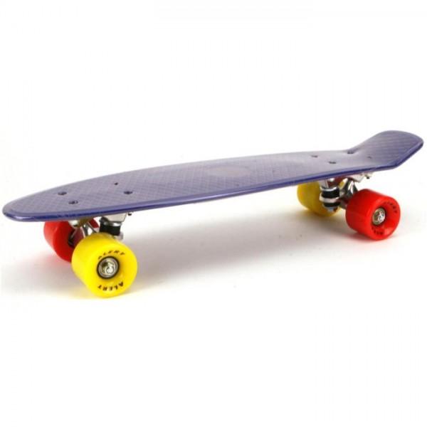 Alert Skateboard 55cm, abec 7 blauw